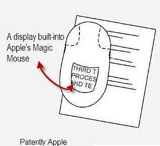 patent Apple na Magic Mouse z ekranem