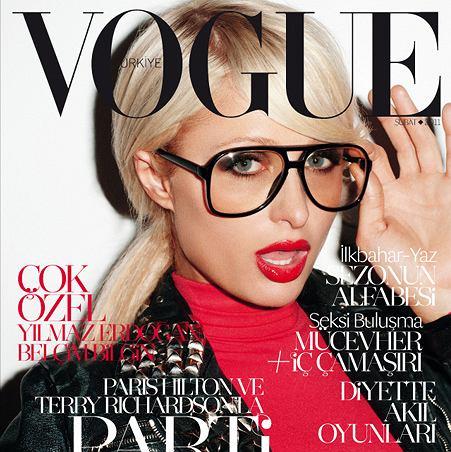 Paris Hilton na okładce tureckiego Vogue