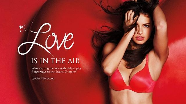 'Love me' - walentynkowa sesja Victoria's Secret