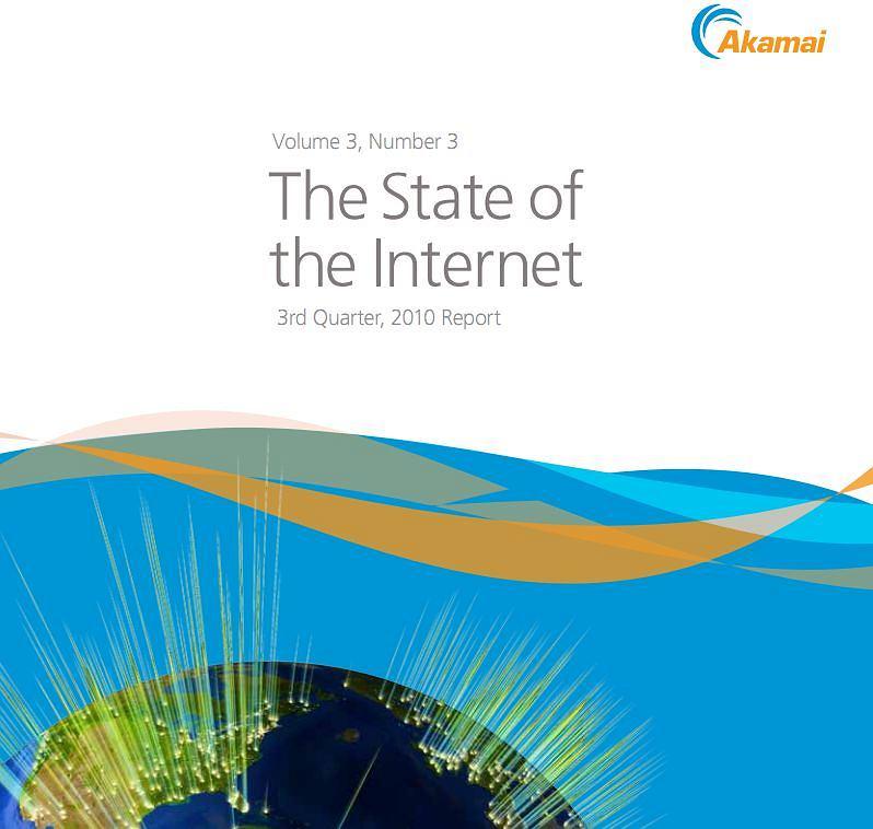 Raport Akamai - Stan Internetu