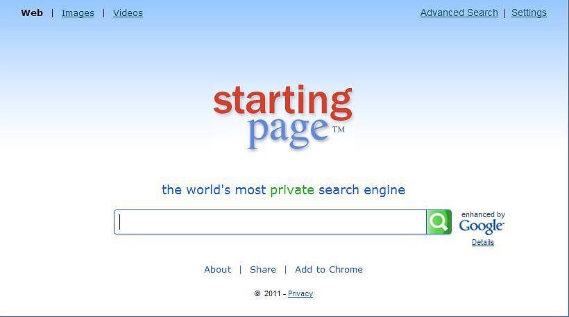 Serwis StartingPage.