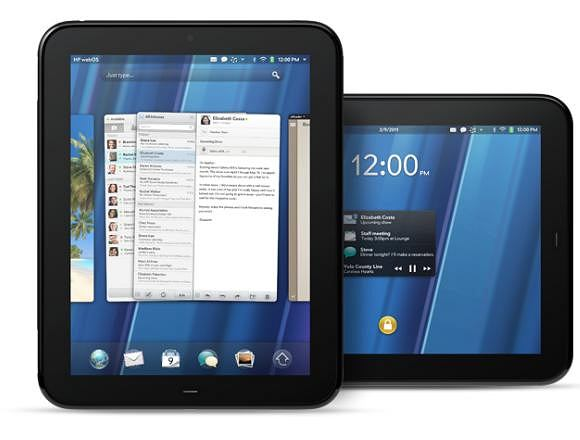 Tablet TouchPad.