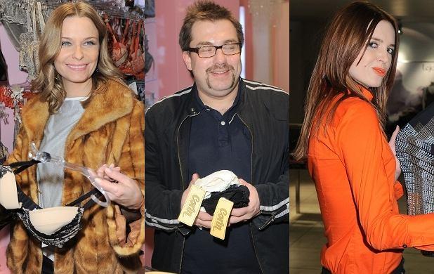 Gwiazdy uwielbiają chodzić do sklepów, zwłaszcza wtedy gdy wiedzą, że czekają tam darmowe prezenty i tłum fotoreporterów. Tym razem przedwalentynkowy event zorganizował salon bielizny Lanoro. Pojawiła się cała śmietanka polskich celebrytów.