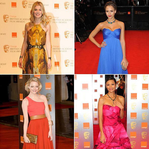 Najlepsze kreacje na wręczeniu nagród BAFTA 2011
