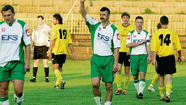 Marian Janoszka w 2009 roku zagrał przeciwko Ruchowi w barwach Sparty Lubliniec