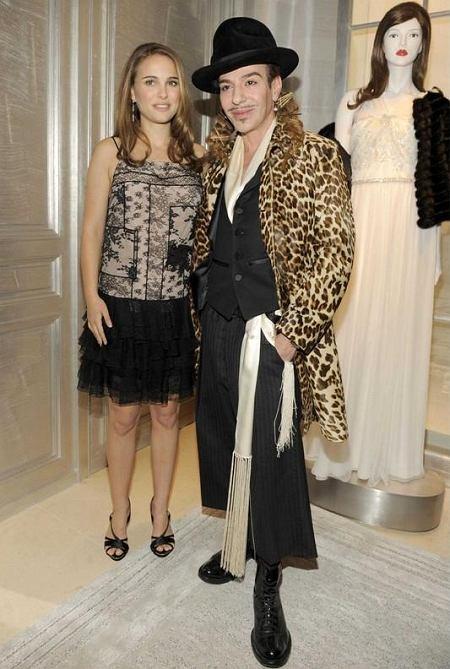 Natalie Portman i Jogn Galliano