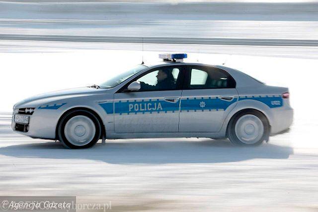 policyjna Alfa Romeo 159