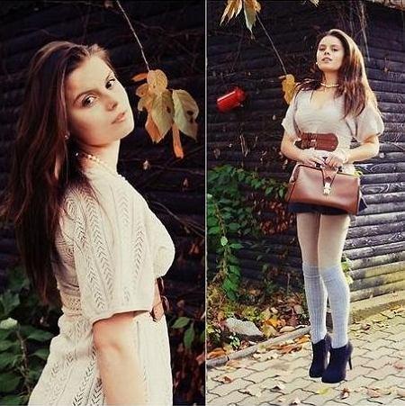 sukienka - Second Hand, pasek - Authentic, spódnica - Second Hand, buty - allegro.pl