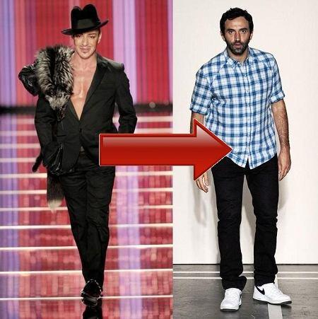 Riccardo Tisci zastąpi Johna Galliano w Christian Dior