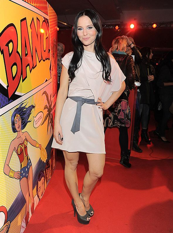 Paulina Sykut na imprezie MAC Wonder Woman