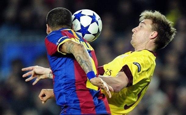 Liga Mistrzów, mecze rewanżowe 1/8 , 8-9 marca 2011