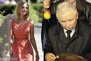 Jarosław Kaczyński i Kasia Tusk