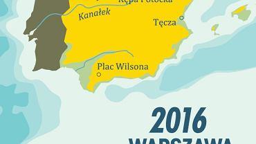 Plakat promujący Warszawę jako kandydata do Europejskiej Stolicy Kultury 2016