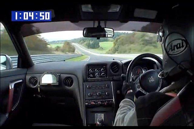 Nowy Nissan GT-R na Północnej Pętli
