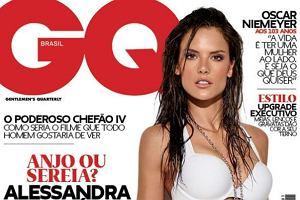 Brazylijska edycja pisma GQ opublikowała właśnie sesję zdjęciową jednej z najpiękniejszych modelek świata. Alessandra Ambrosio wystąpiła ucharakteryzowana na bojowniczą i bardzo seksowną łowczynię z harpunem.
