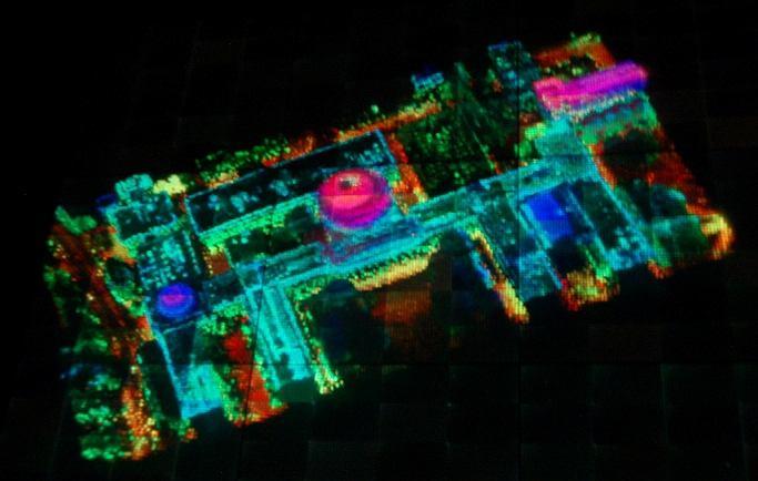 Holograficzny wyświetlacz opracowany dla DARPA