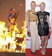 Plotki Roku 2010, Top Model. Zostań Modelką, Doda, płomienie, koncert, gwiazdy