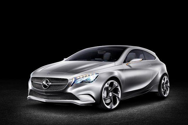 Konepcyjny Mercedes A klasa