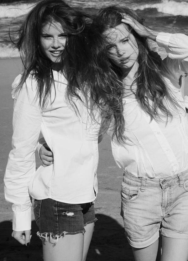 Weekend z agencją Gaga Models - Patrycja i Marta/Gaga stylizacja: JAC