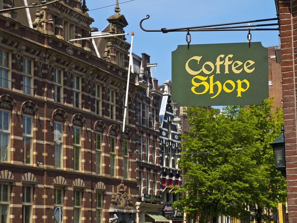 cofee shop, amsterdam, holandia