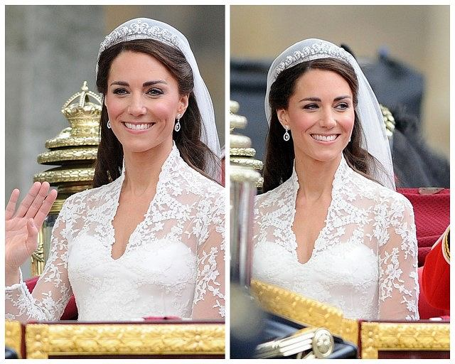 Makijaż ślubny Kate Middleton