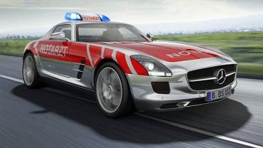 Mercedes SLS AMG w roli ambulansu