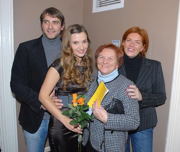 Maciej Dowbor Joanna Koroniewska babcia Joanny Katarzyna Dowbor