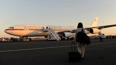 Air Merkel - czyli Airbus A340 Luftwaffe, którym podróżuje kanclerz Merkel