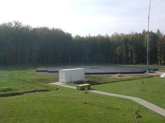 Instalacja LOFAR w obserwatorium w niemieckim Tautenbergu.