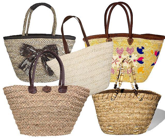 231d12692a0 Przegląd: Plecione i słomiane: torby na lato