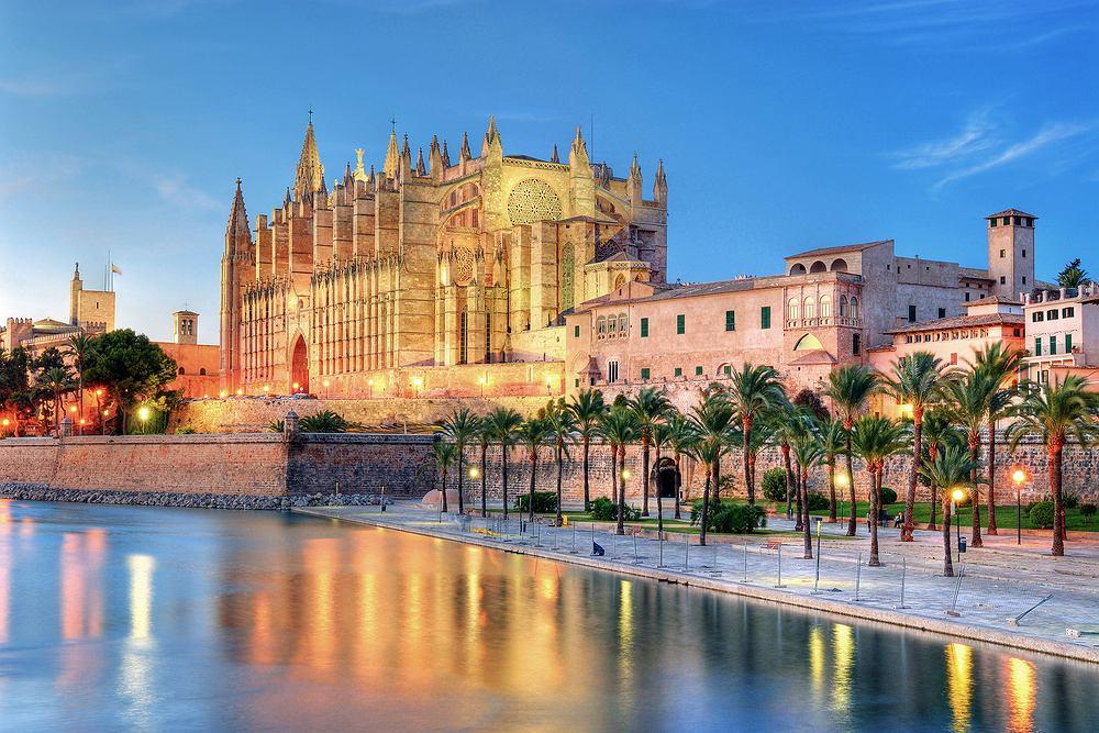 majorka, hiszpania, palma, katedra seu