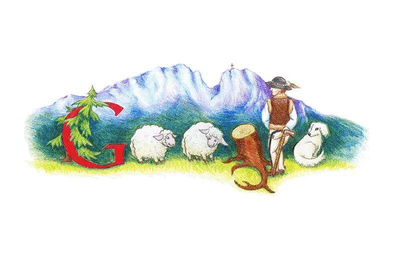 Zwycięski Google Doodle Martyny Króliszewskiej.