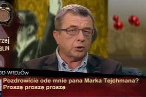 Grzegorz Miecugow zalicza wpadkę