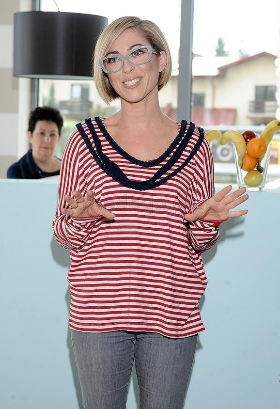 Natalia Kukulska w koszulce HEART