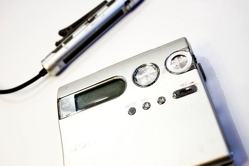 Odtwarzacz MiniDisc Sony NetMD Walkman MZ-N910.