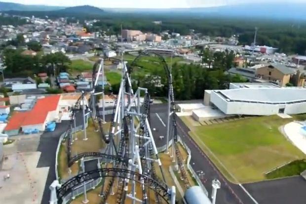 Takabisza w Japonii - najbardziej strona kolejka górska na świecie