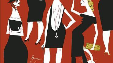 Ilustracja Katarzyny Boguckiej do książki 'M.O.D.A.' Katarzyny Świeżak (wyd. Dwie Siostry)