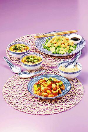 Zupa z kurczakiem po syczuańsku