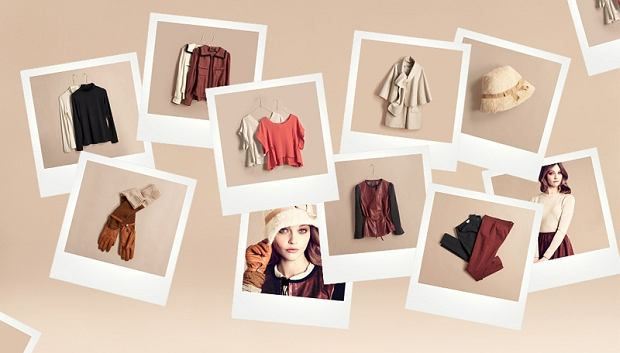 Sasha Pivovarova - lookbook H&M jesień/zima 2011/12
