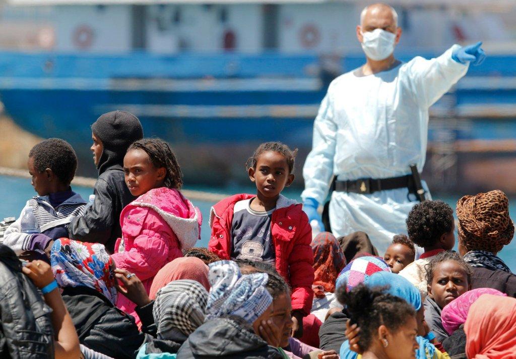 Afrykańscy uchodźcy na Sycylii