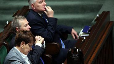 Premier Szydło oraz wicepremierzy: Gliński i Gowin
