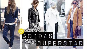Jak stylizować kultowe Adidas Superstar