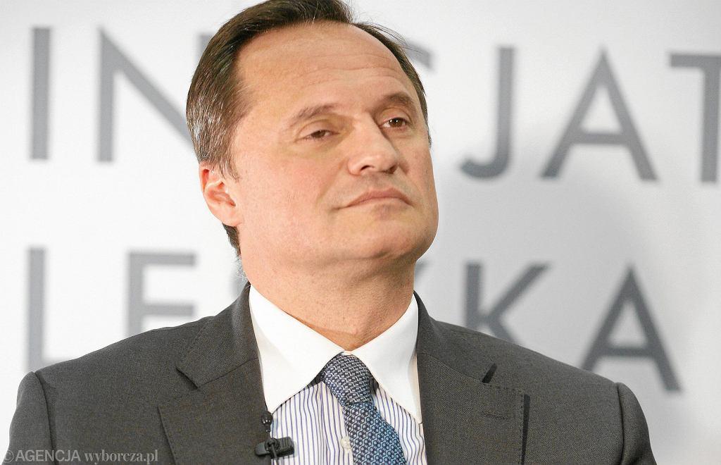 Leszek Czarniecki właściciel m.in. Getin Noble Banku podczas spotkania 'Czy istnieje przepis na sukces w biznesie'. Łódź, 17 listopada 2011