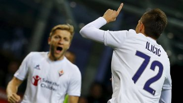 Inter Mediolan - Fiorentina 1:4. Josip Ilicic i Jakub Blaszczykowski