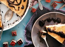 Tarta czekoladowa z orzechowym karmelem - ugotuj