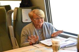 """Pociąg Pendolino przywiózł do Sopotu nowe idee. """"Liczą się wartości, a nie zysk"""""""