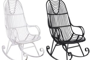 Meble pokojowe: fotele bujane do każdego wnętrza