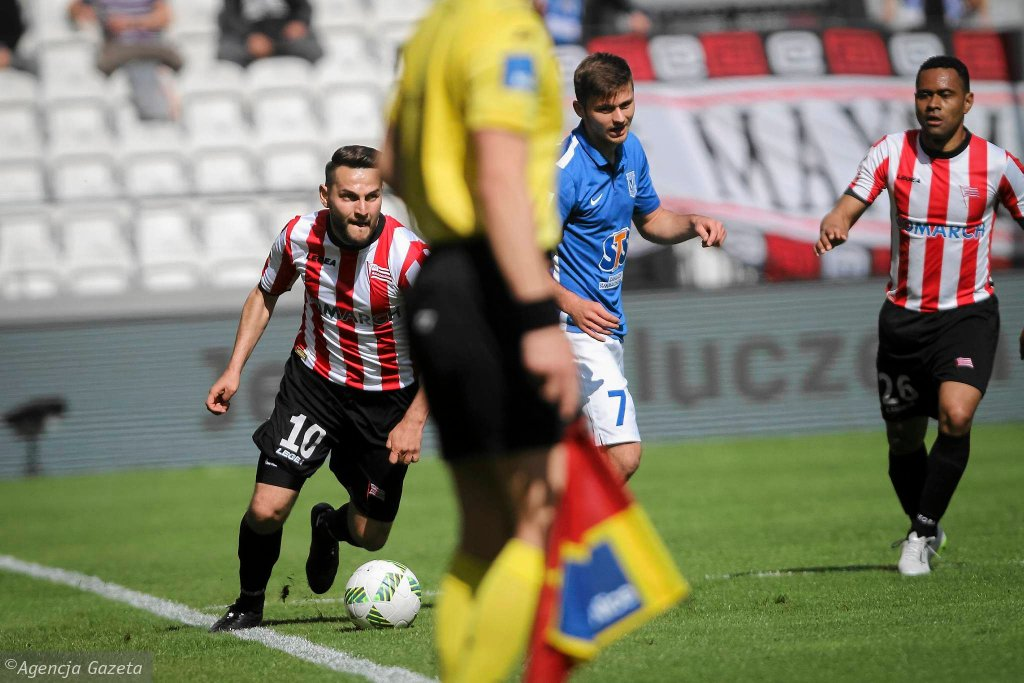 Cracovia - Lech Poznań 2:0. Mateusz Cetnarski i Karol Linetty