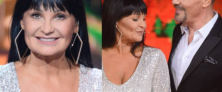 Iwona Pavlović w końcu zamieniła czarne spodnie na obcisłą, srebrną suknię