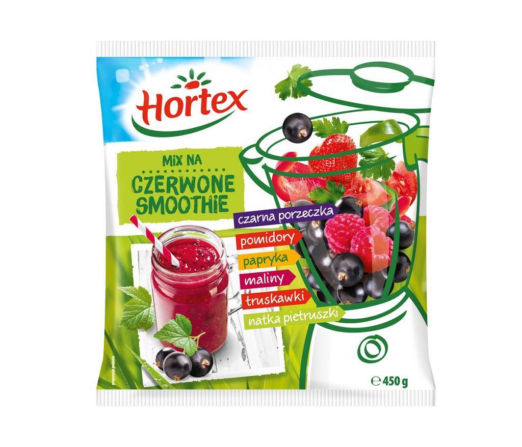 Pyszne, zdrowe, kolorowe smoothie na przedłużenie lata - Hortex smoothie czerwone